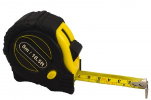 Size matters to sexy grant writers - image of a tape measure